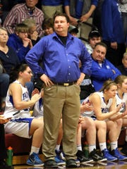 Fairfield head girls' coach Dustin Gordon