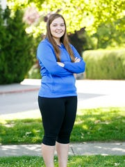 Cammie Decker stands for a portrait for the Mid-Valley Sports Awards on Tuesday, May 31, 2016 at McNary High School.