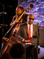 Marcus Roberts of Marcus Roberts Trio plays a Junior Jazz matinee show for Burlington Discover Jazz Festival on Friday, June 10 2016 at FlynnSpace in Burlington, Vermont.