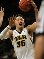 Iowa's Cordell Pemsl has been extremely efficient on