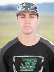 Jared Pine, James Buchanan baseball