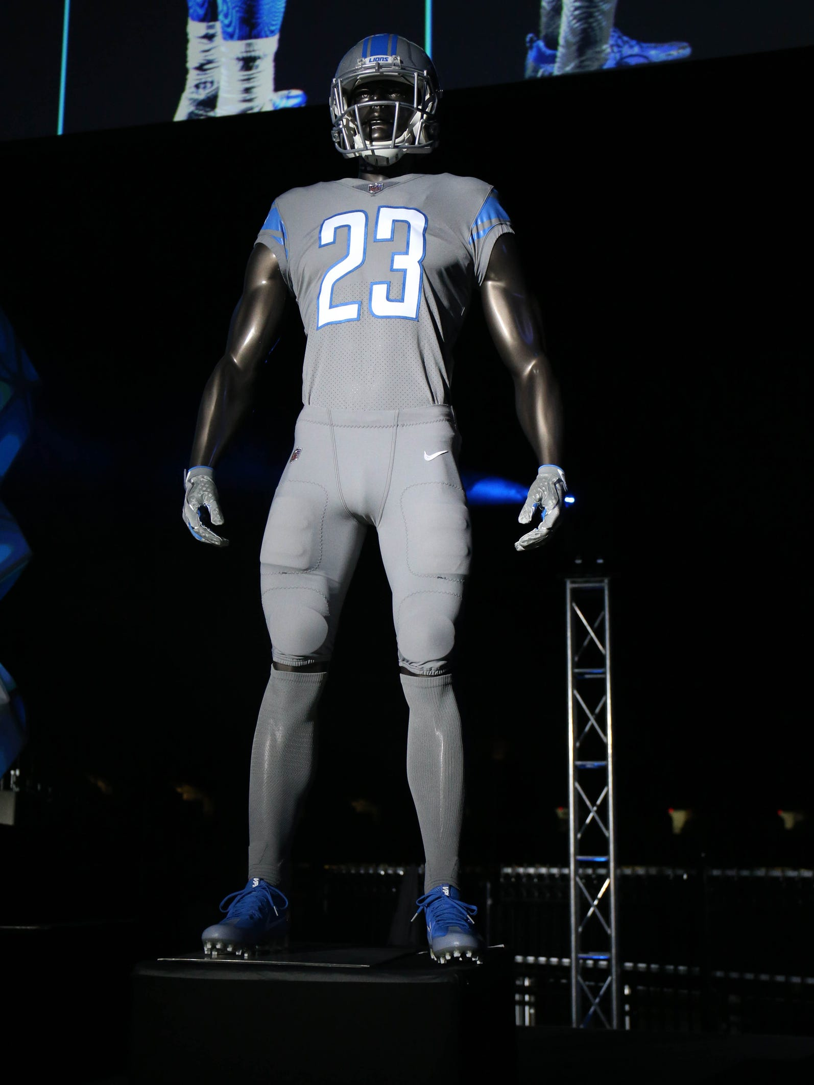 detroit lions color rush jersey