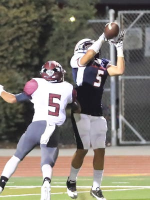 Tulare Western's Keshon Butler set a new Central Section single-game record with 380 receiving yards in the win over Mt. Whitney.