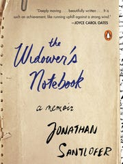 """The Widower's Notebook"" is by Jonathan Santlofer"
