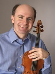 Violinist and Binghamton Philharmonic concert-master
