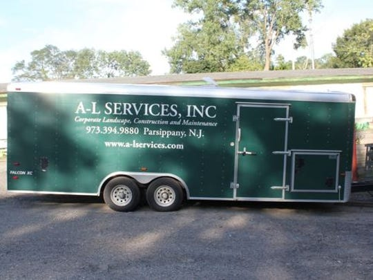 This A-L Services trailer was stolen Saturday night in Morris Plains.