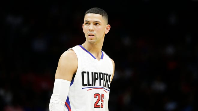 Los Angeles Clippers' Austin Rivers is being investigated by NBA for hitting a fan with a seat cushion.