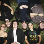 Sheppard pose at the 28th Annual ARIA Nominations Event at Art Gallery Of NSW on Oct. 7 in Sydney.