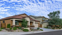 A suburban area with an urban feel defines Desert Ridge,