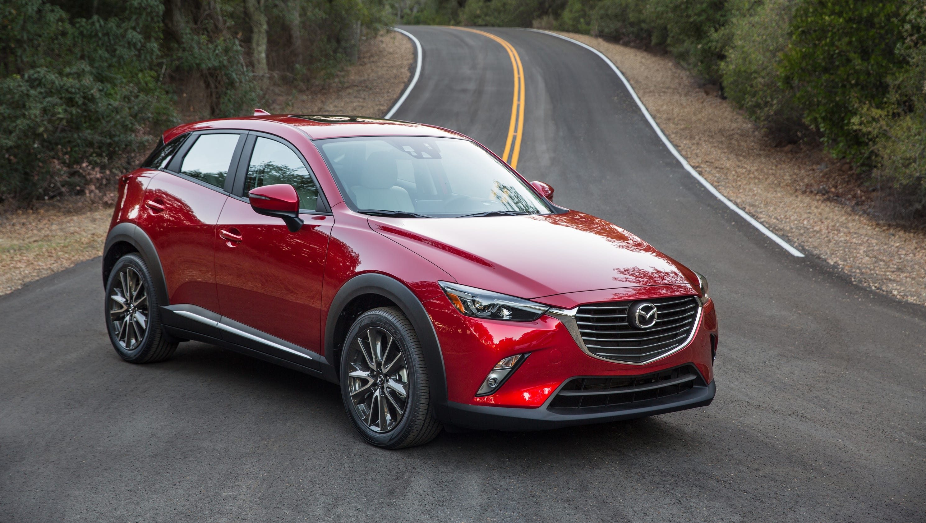 mazda cx 3 review small suv sacrifices practicality. Black Bedroom Furniture Sets. Home Design Ideas