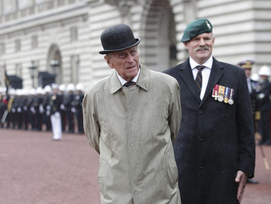 Britain Prince Philip (2)