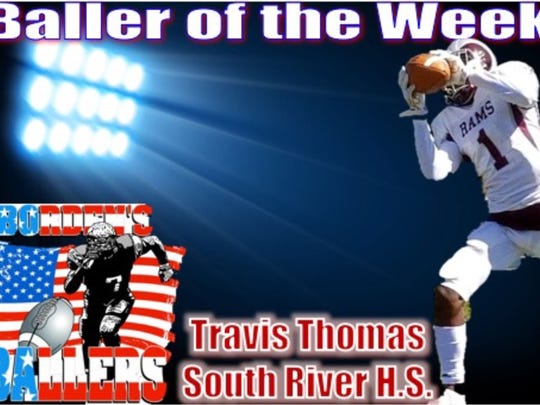 Travis Thomas is Borden's Baller of the Week