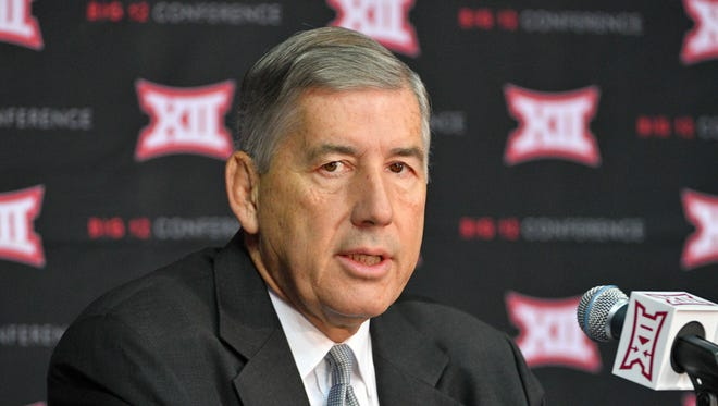 """We believe this change provides the best opportunity going forward,"" Big 12 commissioner Bob Bowlsby said in a statement released by the conference. ""However, we will undoubtedly need to be flexible as we progress through the season in order to combat the challenges that lie ahead."""