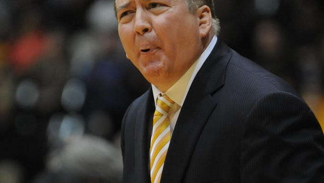 Donnie Tyndall as Southern Miss's head coach in February