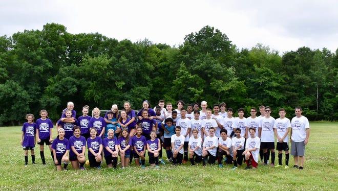 Salk Middle School Soccer Teams Kick Cancer, Raising More than $4,000.