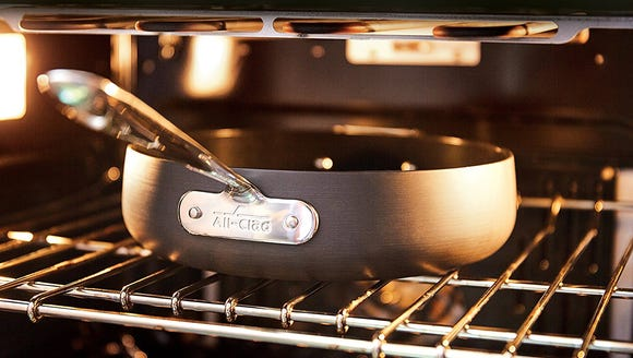 Use this pan your stove or oven.