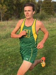 David Mitter took first in 16:09.7, leading Howell