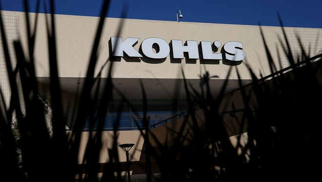 A sign is posted on the exterior of a Kohl's store on November 12, 2015 in San Rafael, California.