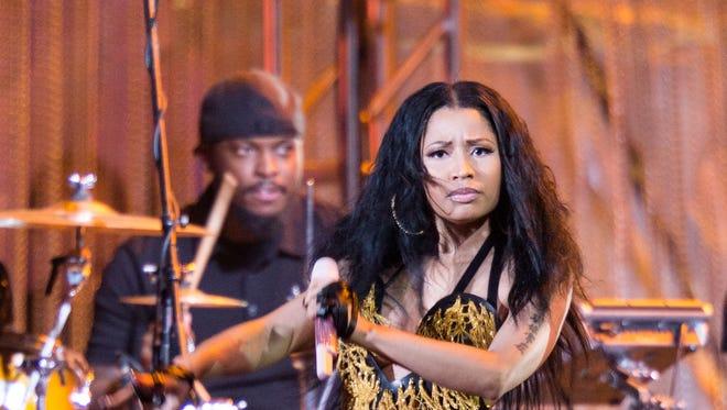 Nicki Minaj performs at the 2014 Philly 4th Of July Jam   in Philadelphia.