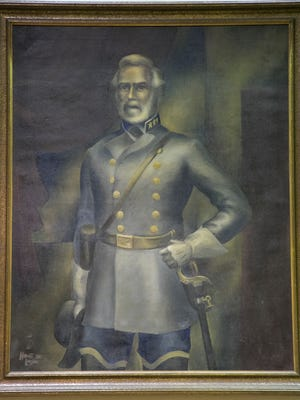 A portrait of Gen. Robert E. Lee hangs over the Lee County Commissioners chambers. We suggest moving the portrait to a place where history is preserved, like IMAG.