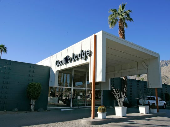 The Ocotillo Lodge building on 1111 E. Palm Canyon