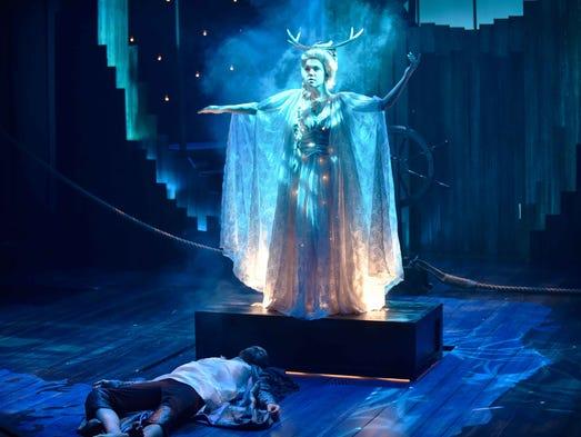 John P. Keller and Kimmi Johnson star in Orlando Shakespeare