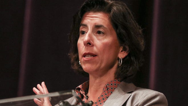 Gov. Gina Raimondo renewed her commitment to providing more testing in Rhode Island's cities, which have borne the brunt of the COVID-19 pandemic.