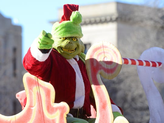 The AT&T Green Bay Holiday Parade steps off at 10 a.m. Saturday morning. Visits with Santa Claus (not the Grinch, thankfully) and ice skating at CityDeck are planned for after the parade.
