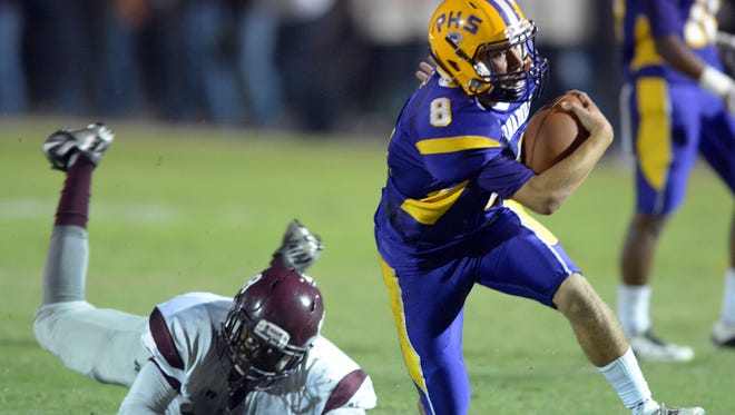 Purvis quarterback Ty Howell will look to have a big game against Seminary on Friday.