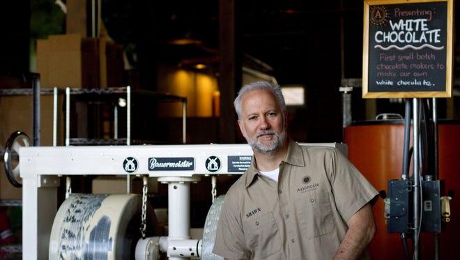 Shawn Askinosie, owner of Askinosie Chocolate, recipient of the 2017 W. Curtis Strube Small Business Award