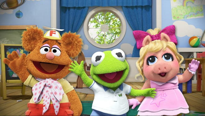 'Muppet Babies' arrive at Disney Junior in 2018.