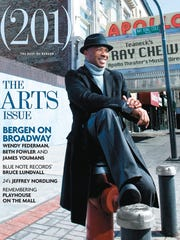 Ray Chew on the cover of the April 2009 issue of (201)