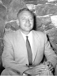 Kenneth Hall in the 1960s.