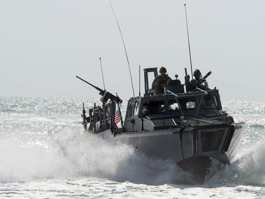 Iran US Navy Boats
