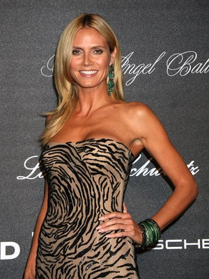 Heidi Klum attends the 2015 Angel Ball at Cipriani Wall Street on Oct. 19, 2015 in New York.