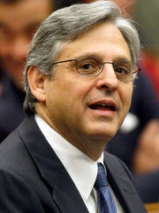 Judge Merrick B. Garland is seen at the federal courthouse