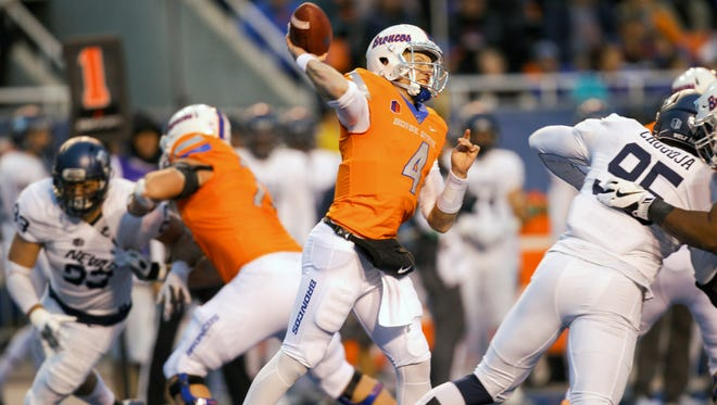 With no upsets to speak of in the Mountain West this past weekend, quarterback Brett Rypien and Boise State remain No. 1 in our weekly MW power rankings. The Broncos visit CSU this wekeend.