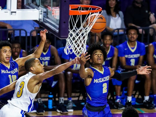 Sharife Cooper and McEachern return to the City of Palms this year. They played Chicago Simeon in the third-place game last season.