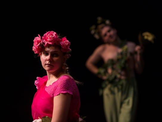 Kimberly Starts plays Titania  in 'A Midsummer Night's