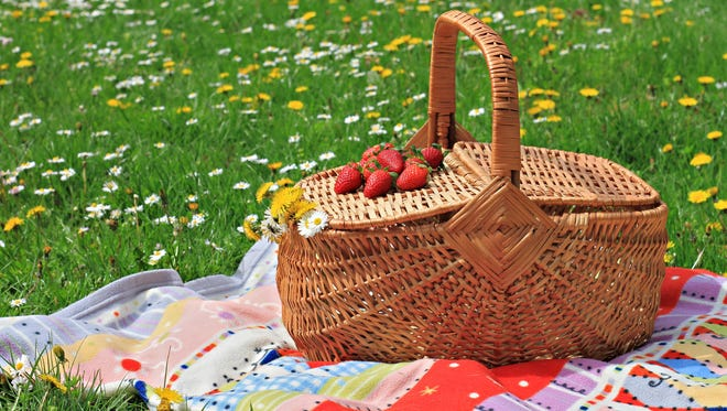 Treat family and friends to a picnic with a gourmet feast alfresco.