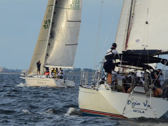 'Midnight Sun II' in Pensacola a la Habana Race