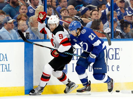 Apr 21, 2018; Tampa, FL, USA; Tampa Bay Lightning center