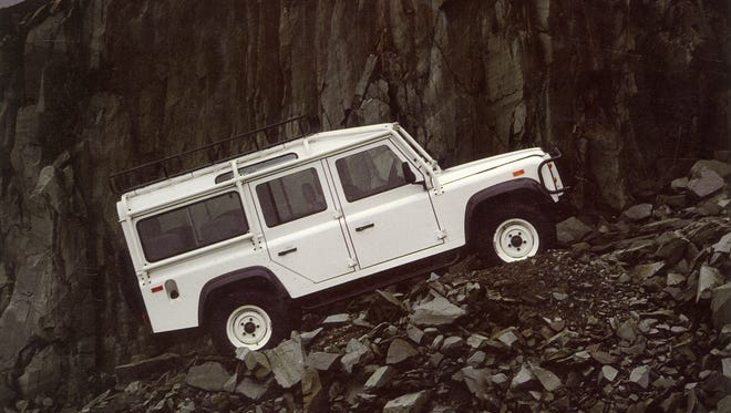 The Land Rover Defender is being discontinued.
