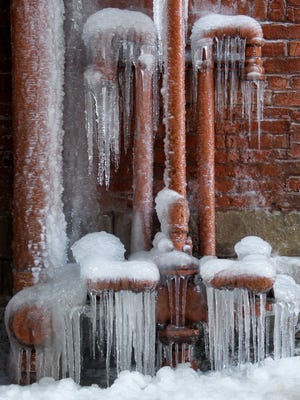You may want to keep water flowing at all times to avoid frozen pipes.