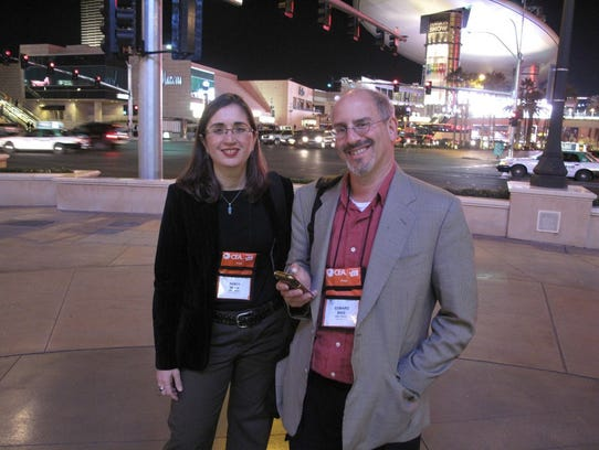 USA TODAY's Nancy Blair and Ed Baig in Las Vegas for