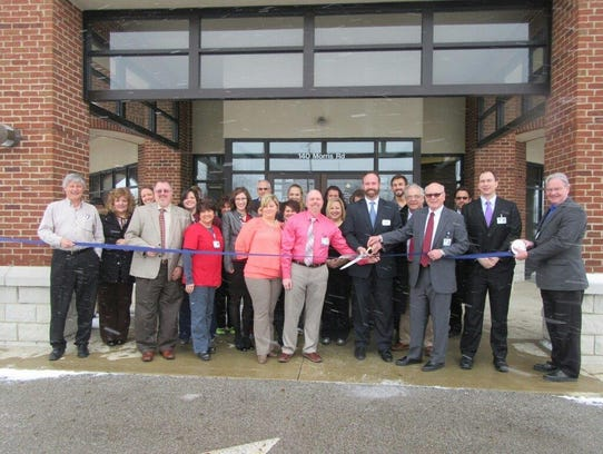 Business and community leaders joined Adena Health