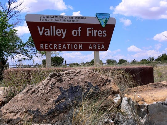 The Valley of Fires Recreation Area is just a quick