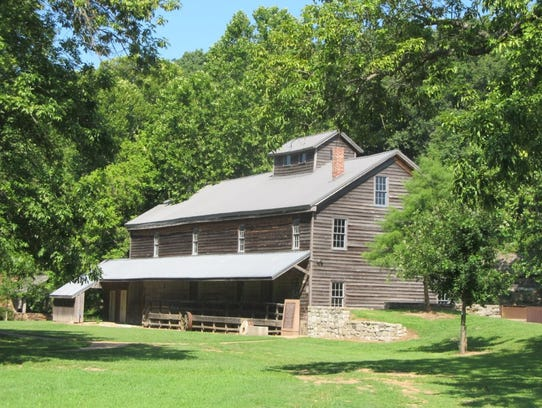 The mill at Jolly Mill Park in Newton County. The park
