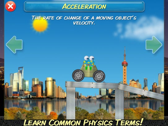 Learn core physics concepts with these interactive