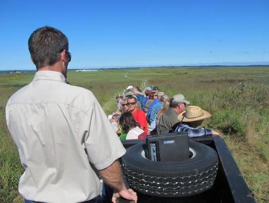 Matt Hill, wildlife management biologist with the Missouri